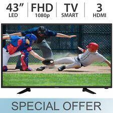 """Westinghouse 43"""" Inch 1080p FULL HD Smart LED 60Hz w/ 3 HDMI TV WD43FC2380 - NEW"""