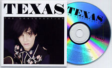 Texas The Conversation Uk 12-trk numbered promo test Cd