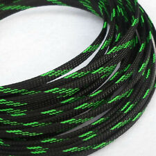 Color 6mm Expandable Braided Sleeving Cable Wire 3 Weave High Density Sheathing