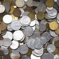 Konvolut Polen Kiloware - Münzen PRL 1949-1990 - Mischung 1 KILOGRAMM 1 Kg LOT