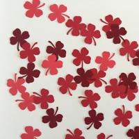 Martha Stewart Clover Punch Scrapbooking 50 Pcs Cardstock Party Craft Confetti