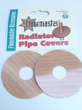 Alder Effect Laminate Floor 15mm Radiator Pipe Covers x 2 By Floormaster