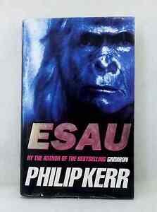 Esau by Philip Kerr adventure missing link used hardcover dust jacket 1st print