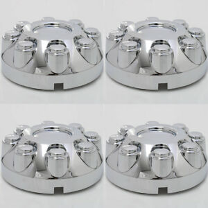 "Set 4PC fits RAM 2500 3500 TRUCK 17"" CHROME Wheel Center Hub Caps 8 Lug Covers"