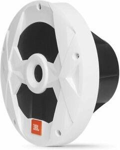 "JBL Club MS10LW 10"" Marine Boat Audio Multi-Element White Subwoofer w/ RGB LED"