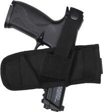 Black Tactical Ambidextrous Compact Belt Slide Gun Holster