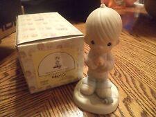 Precious Moments Figurine Help Lord, I'm In A Spot Figurine Mib 100269