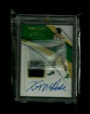 Kevin Mchale Immaculate SNEAKER SWATCH SIGNATURES Auto #1/15! Boston Celtics SP!