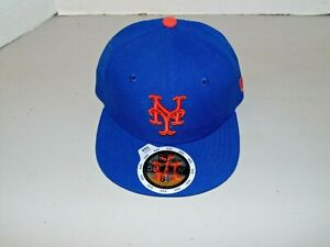 New Era 59Fifty Cap MLB New York Mets  Kids Youth Size 6 1/2