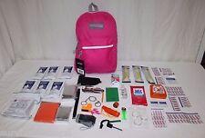 3 Day Children's Emergency Survival Kit Bag  Kid's Disaster Pack Girls Boys 72Hr