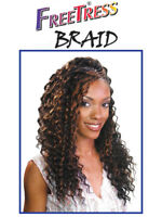 SNG Freetress Crochet Curly Long Hair Extension Braid DEEP TWIST 22 INCH braids