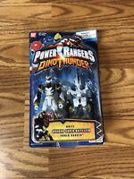Power Rangers Dino Thunder : White Quadro Super-Battlized Sealed in packaging PR