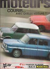 MOTEURS 68 1968 INDY 500 GP MONACO BELGIQUE GIULIA 1750 GTV CHEVROLET CAMARO SS