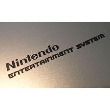 Nintendo NES Label / Aufkleber / Sticker / Badge / Logo 74mm x 11mm [268c]