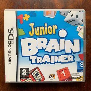 Junior Brain Trainer Nintendo DS Game Training