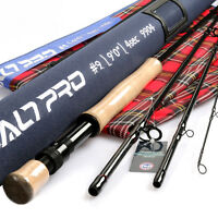 Saltwater Fly Rod 8/9/10wt 9ft Graphite IM10 Fast Action Fly Fishing & Tube