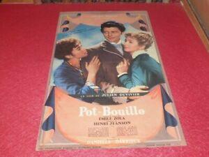 Cinema Poster Original Fr - Pot Date Porridge550g - Gerard Philippe Duvivier