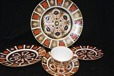 Royal Crown Derby 1128 Old Imari 5 piece place setting NEW LOW PRICE !!!!
