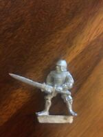 Unreleased Empire Swordsman / Knight Rare Warhammer Metal Games Workshop
