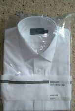 Marks and Spencer Polyester No Pattern Formal Shirts for Men
