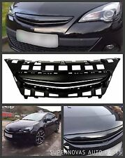 Opel Vauxhall Astra J Opel GTC Coupe 2012> Facelift Debadged Plain Black Grille
