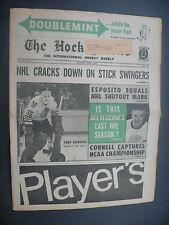 The Hockey News April 3, 1970 Vol.23 No.26 Tony Esposito Delvecchio Apr '70 C
