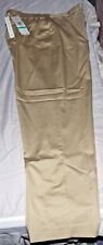 NEW LADIES PANTS SIZE 16 ALFRED DUNNER STRETCH TAN BARBADOS PROPORTIONED MEDIUM
