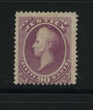 Us O34 mint key stamp 90 cent Justice catalog $1,900.00 Ms0329