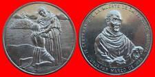 SILVER 1965 MEDALLA PLATA IV CENTENARIO MUERTE DN. VASCO DE QUIROGA