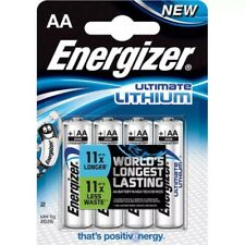8 X Energizer AA Ultimate Lithium Batteries: THE WORLDS LONGEST LASTING BATTERY