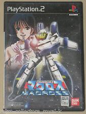 *Complete* PS2 Game CHOUJIKUU YOUSAI MACROSS NTSC-J Japan PlayStation Import