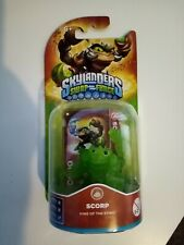 Skylanders Swap Force Green Scorp Rare