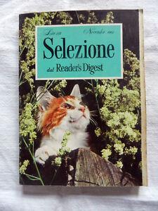 SELEZIONE Dal Reader's Digest Novembre 1962 Libro Rivista Mensile