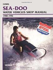 Sea Doo Jet Ski PWC HX SP Spx Spi Xp XP-800 Manual De Reparación De Servicio Manual Libro