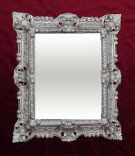 Miroirs muraux argentés rectangulaires pour la décoration intérieure