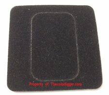 5 Air-tite Coin Capsule Display Card Insert 1oz Silver BAR Holder BLACK Storage