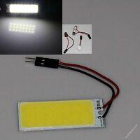White 24 chips COB LED Dome Light Panel Interior Bulb Lamp T10 Festoon DC 12V