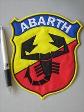 PATCH ABARTH VECCHIO LOGO RICAMATO TERMOADESIVO CM.15,5x18 - REPLICA - COD 1013