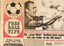 BL 83/84 VfB Stuttgart - VfL Bochum (TIP)