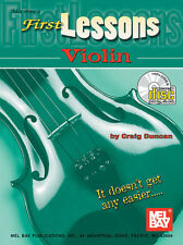 FIRST LESSONS VIOLIN TUITIONAL BOOK w/ CD & DVD LEARN TO PLAY TUTORIAL NEW