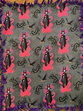 Maleficent Fleece Tie Blanket