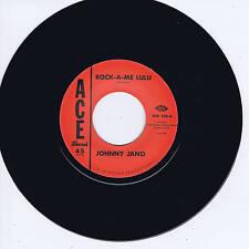 JOHNNY JANO - ROCK-A-ME LULU b/w RUSTY KERSHAW - CARRY ON (New Rockabilly Repro)