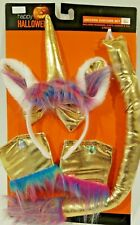 Halloween Costume Unicorn Costume 5 piece headband cuffs choker tail