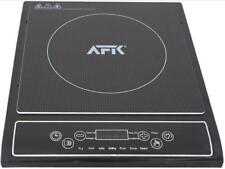 AFK Induktionskochplatte 2000W LED Induktion Kochplatte Kochfeld Herdplatte