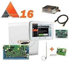 KIT ANTIFURTO ALLARME CASA CENTRALE BENTEL ABSOLUTA 16+ TASTIERA M-TOUCH+ GSM