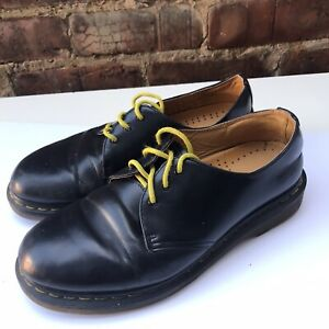 Dr Martens Womens Shoes Black Leather UK6/ EUR 39