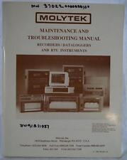 Molytek Recorder Dataloggers RTU Instruments Troubleshooting Manual dq