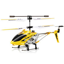 Professinal Syma S107G Mini Metal Remote Control RC Helicopter Toys Gift Yellow