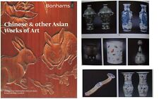 Bonhams London 2012 Chinese & Other Asian Works of Art Full Color Lots of Info