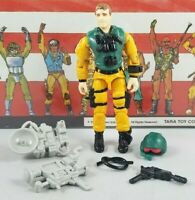 Original 1989 GI JOE SCOOP V1 UNBROKEN Complete figure Cobra